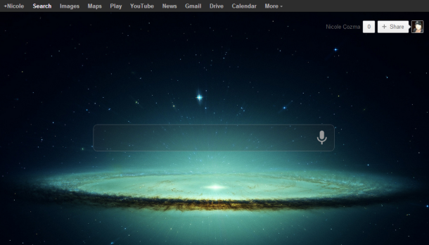 Customize the google search background in chrome techiecode - Chrome web store wallpaper ...